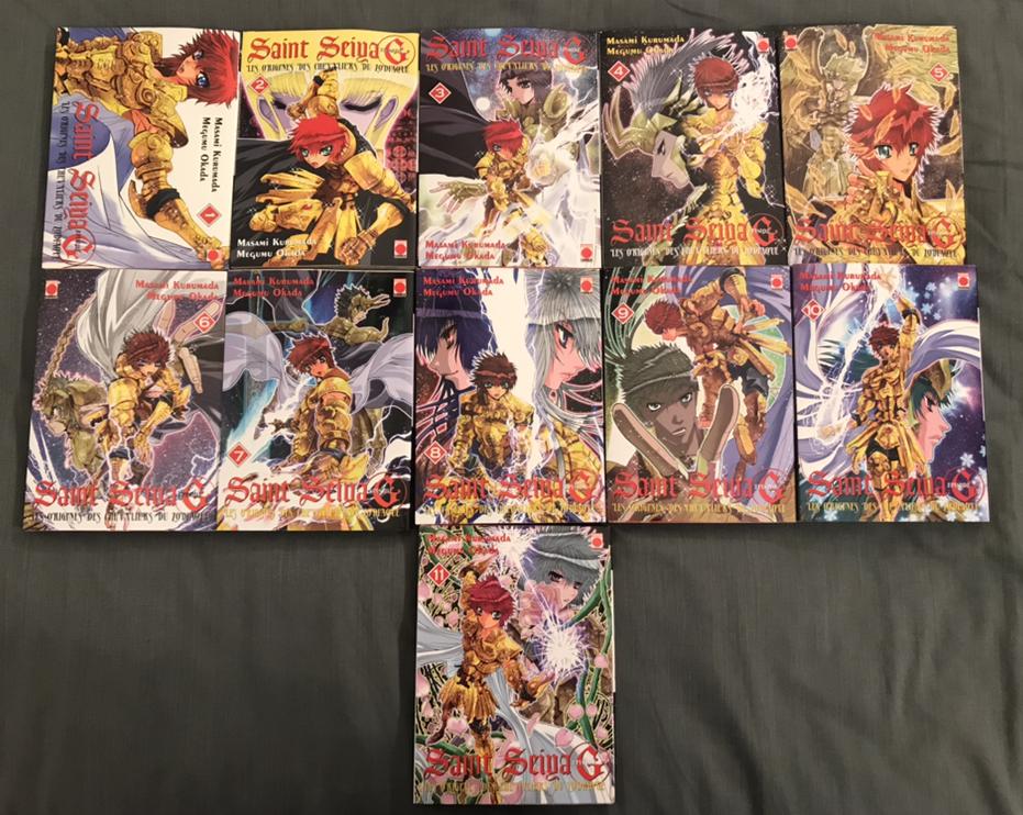 Saint seiya episode g 1 à 11 sur Manga occasion