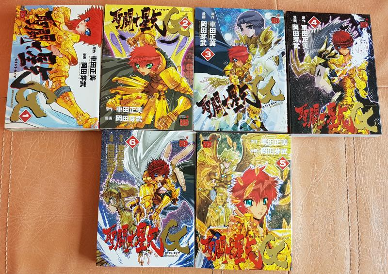 Saint seiya episode g - 6 tomes - version japonaise d'occasion