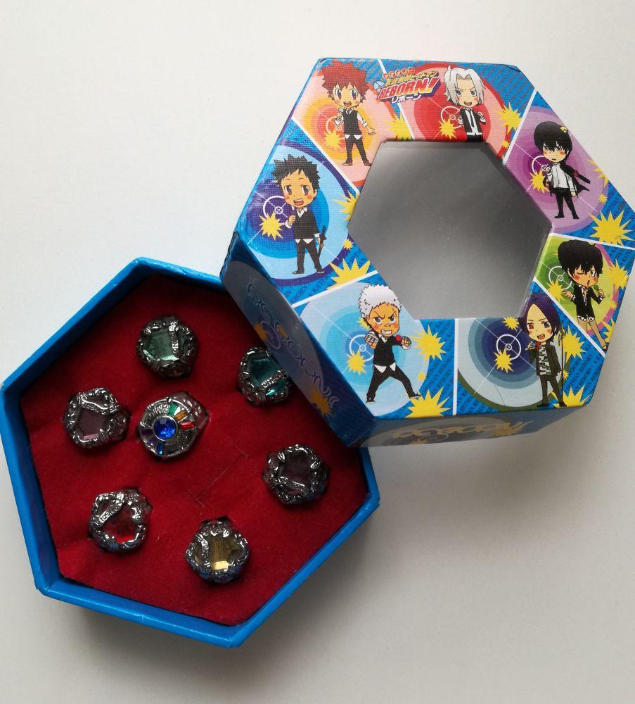 commander en ligne grosses soldes dernière sélection Reborn! coffret de 7 anneaux vongola sur Manga occasion