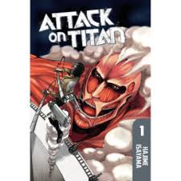 Attack on Titan - 1 - Manga version US