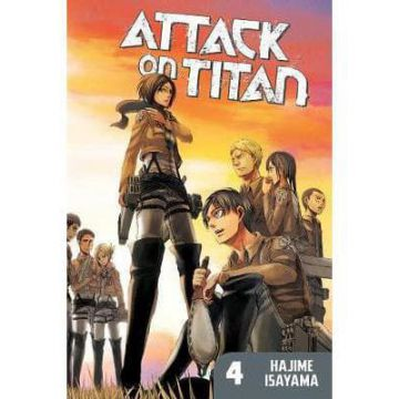 Manga Attack on Titan - 4 - version US