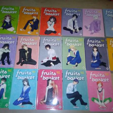Lot Série complète Fruits Basket 23 tomes 17 volumes