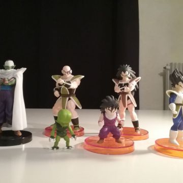 Lot 3 figurines Dragon Ball Real Works