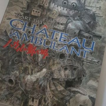 Artbook Le chateau ambulant neuf