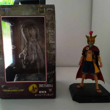 One Piece - Figurine Lucy Ichiban Kuji Lot A Dressrosa