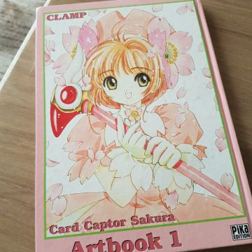 Card captor sakura Artbook1