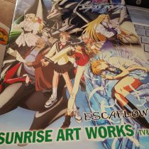 Escaflowne Sunrise art works TV et Movie