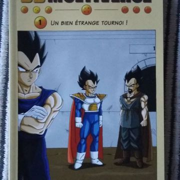 Dragonball Multiverse Officiel Tome 1 à 7