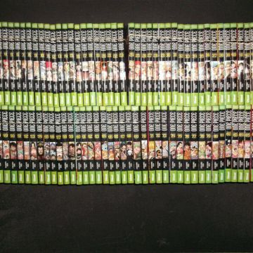 COLLECTION COMPLETE / INTEGRALE MANGAS ONE PIECE TOMES 1 A 91 + 4 COLLECTOR