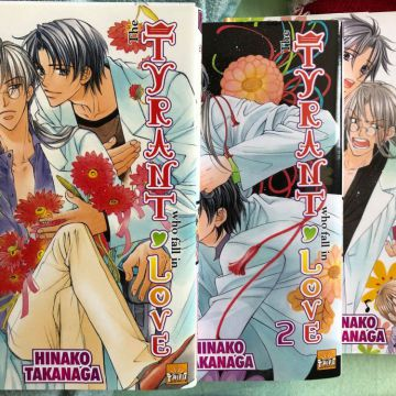 The Tyrant who fall in love (Tome 1,2 &3)