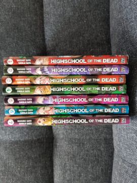Highschool of the dead tomes 1 à 7