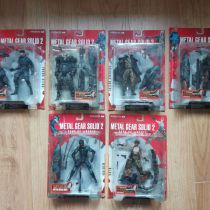 Lot Figurines sous blister - Metal Gear Solid 2 : Sons of Liberty - KONAMI
