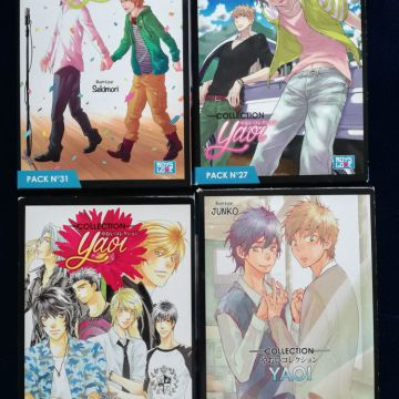 9 Pack yaoi collection