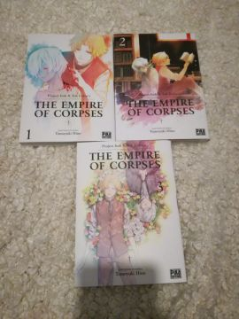 The Empire of Corpses intégral 3 tomes