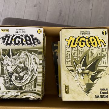 Lot complet tome 1-38 yu gi oh
