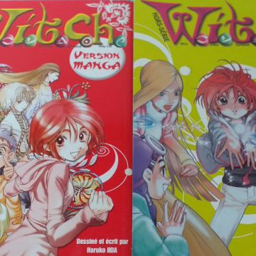 Witch version manga serie complete tome 1 et 2