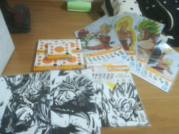 lot kuji dragon ball