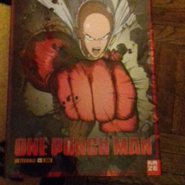 One punch man intégral saison 1 edition collector dvd
