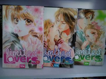 limited lovers intégrale (3 volumes)
