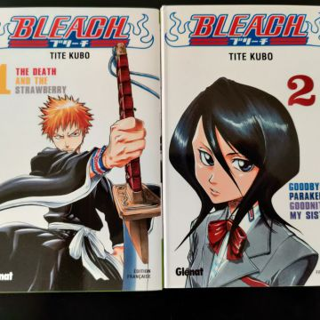 Vend Bleach - Tomes 1 & 2