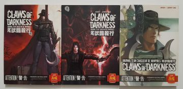 Claws Of Darkness Intégrale : Tome 1 À 3