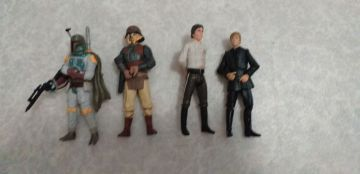 Lot de 4 figurines star wars