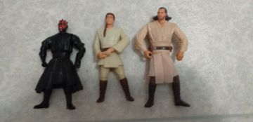 Lot de 3 figurines star wars
