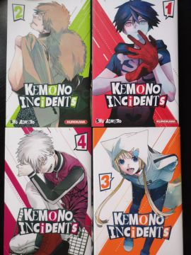 Kemono Incidents tomes 1 à 4