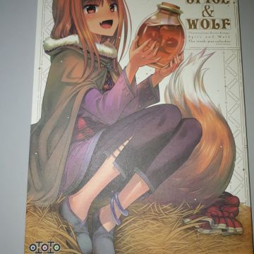 Artbook Spice and Wolf
