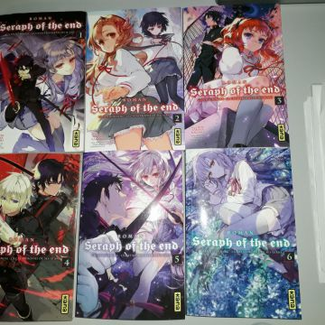 Light Novel Seraph of the End tomes 1 à 6