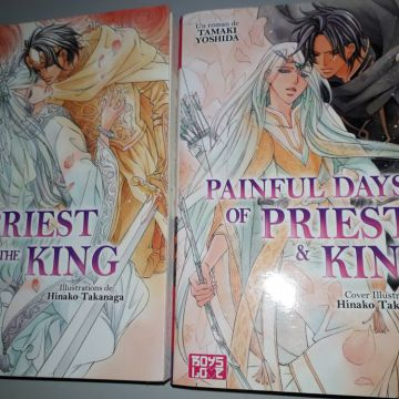 The king is crazy about the Priest tomes 3 et 5