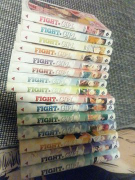 Fight girl tomes 1 à 15