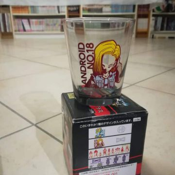 Verre Dragon Ball C 18