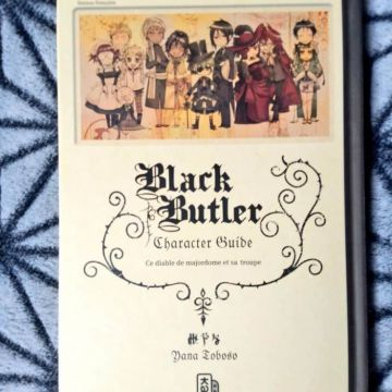 Character Guide Black Butler