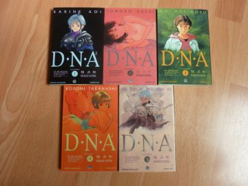 Vend intégrale DNA2 (5 volumes/BE)