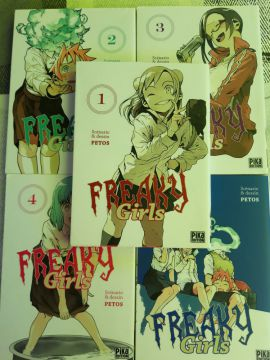 Freaky Girls Tomes 1 à 5