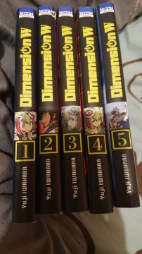 Dimension W Tome 1 à 5