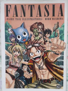Artbook de Fairy Tail neuf