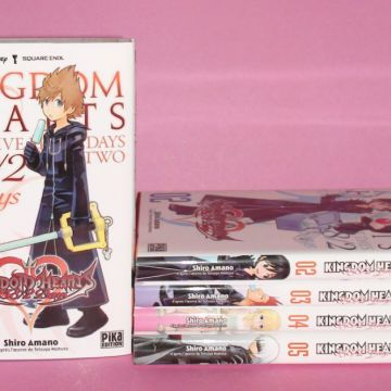 Intégrale Kingdom hearts 358/2 Days (5 tomes)
