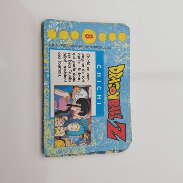 5 cartes Dragon ball z
