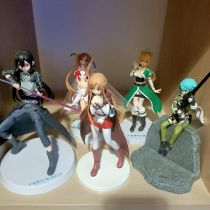 Lot de 5 figurine SAO
