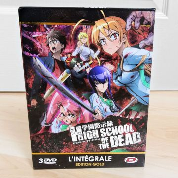 High school of the dead  intégrale