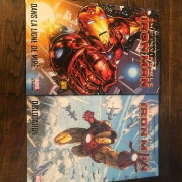 MARVEL DELUXE IRON MAN Tome 1 et 2