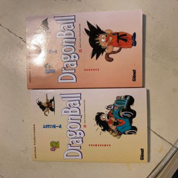 DRAGON BALL TOME 1 et 2