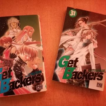 Deux volumes de Get Backers [30 et 31]