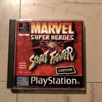 Marvel surfer Heroes VS Street fighter PS1