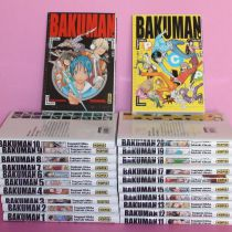 Intégrale Bakuman (20 tomes) + 2 characters books