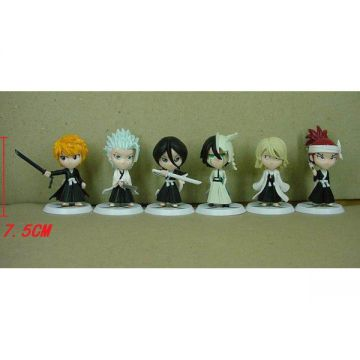 6 Figurines Bleach