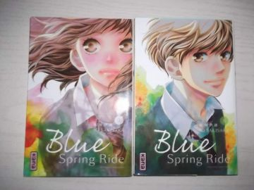 Blue sping ride tomes 5 à 8