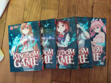 Kingdom Game intégrale (5 volumes)